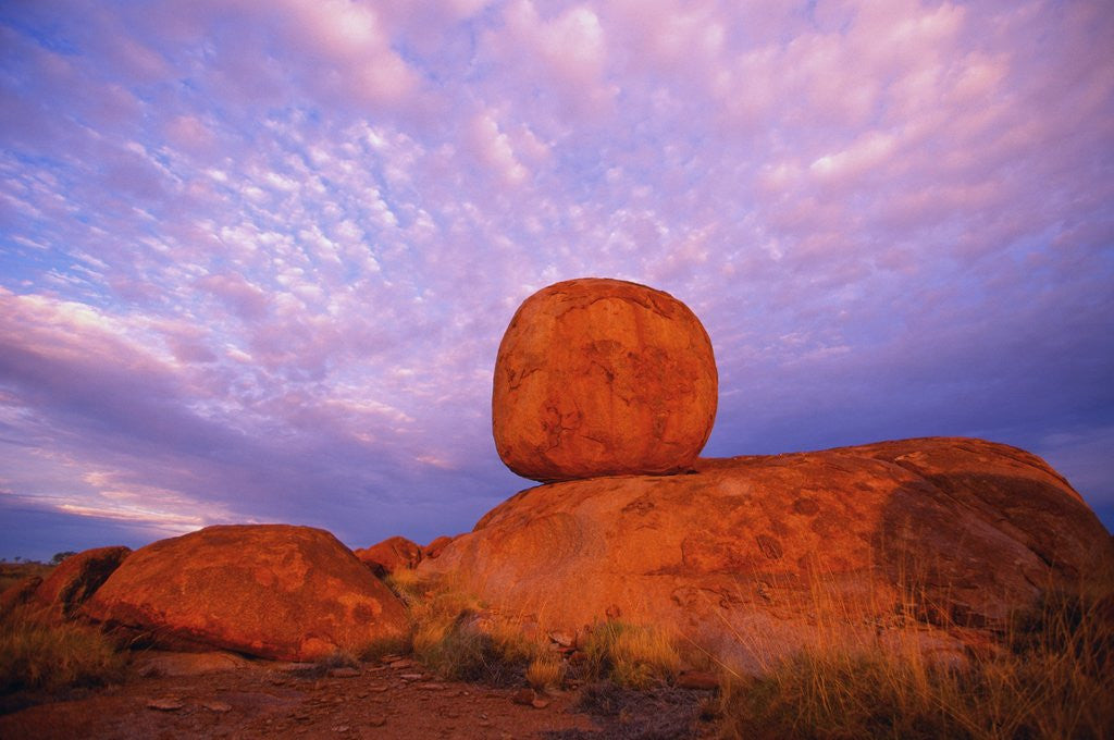 Detail of Devils Marbles by Corbis
