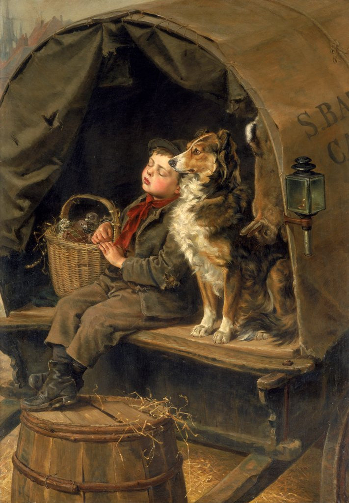 Detail of Last in Market by Ralph Hedley