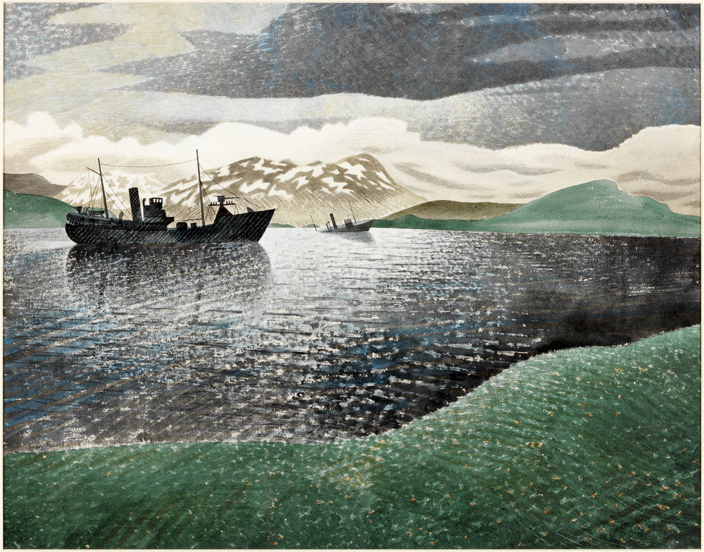 Detail of Norway by Eric Ravilious