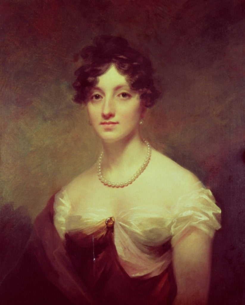 Detail of Lady Colville by Sir Henry Raeburn