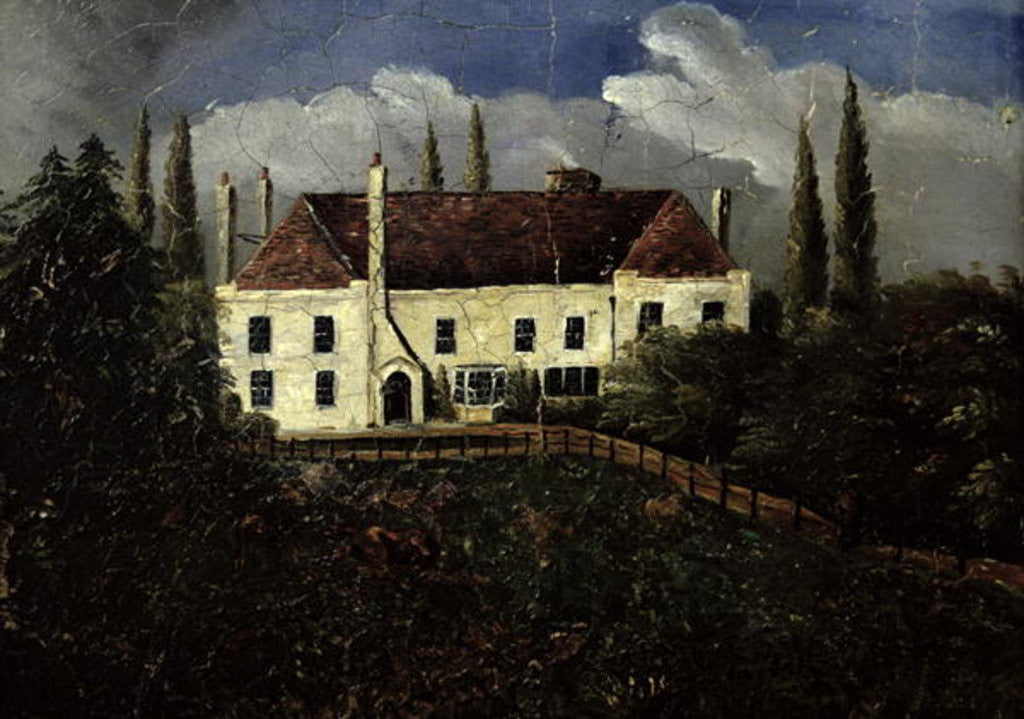 Detail of Chawton House by English School