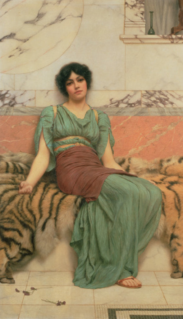 Detail of Sweet Dreams by John William Godward