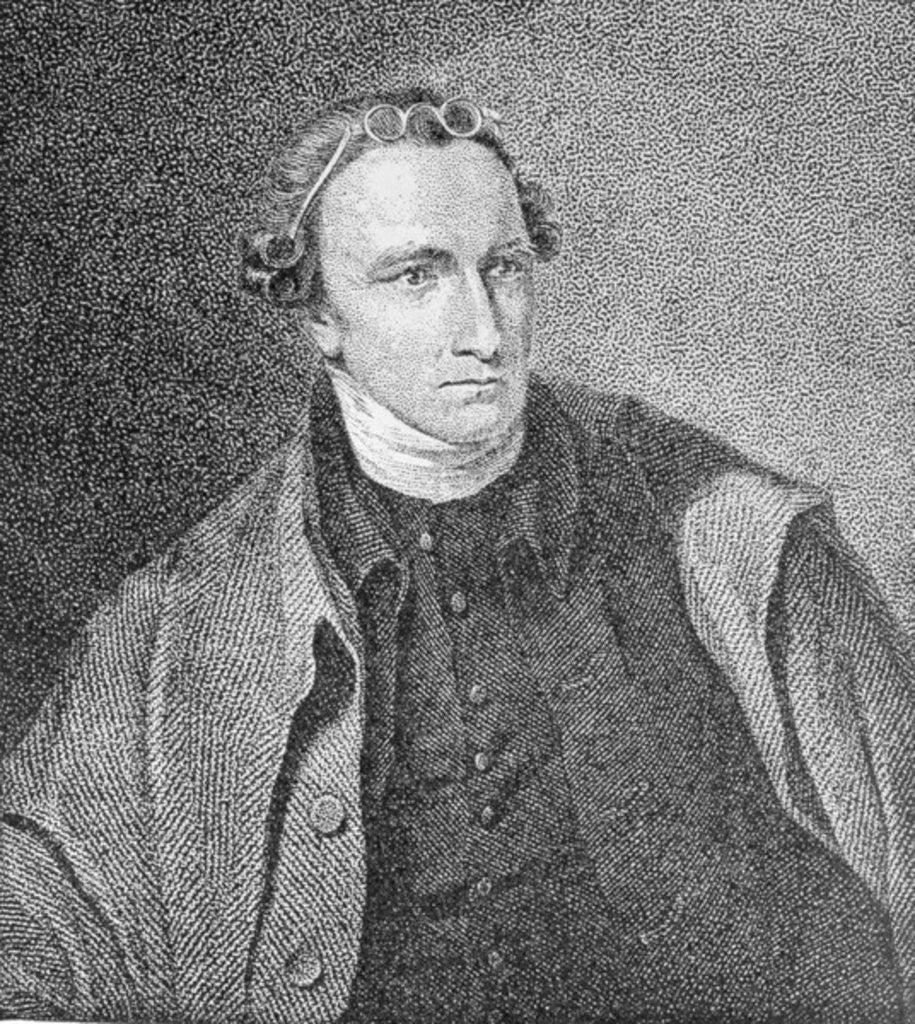 Detail of Portrait of Patrick Henry by Lawrence Sully