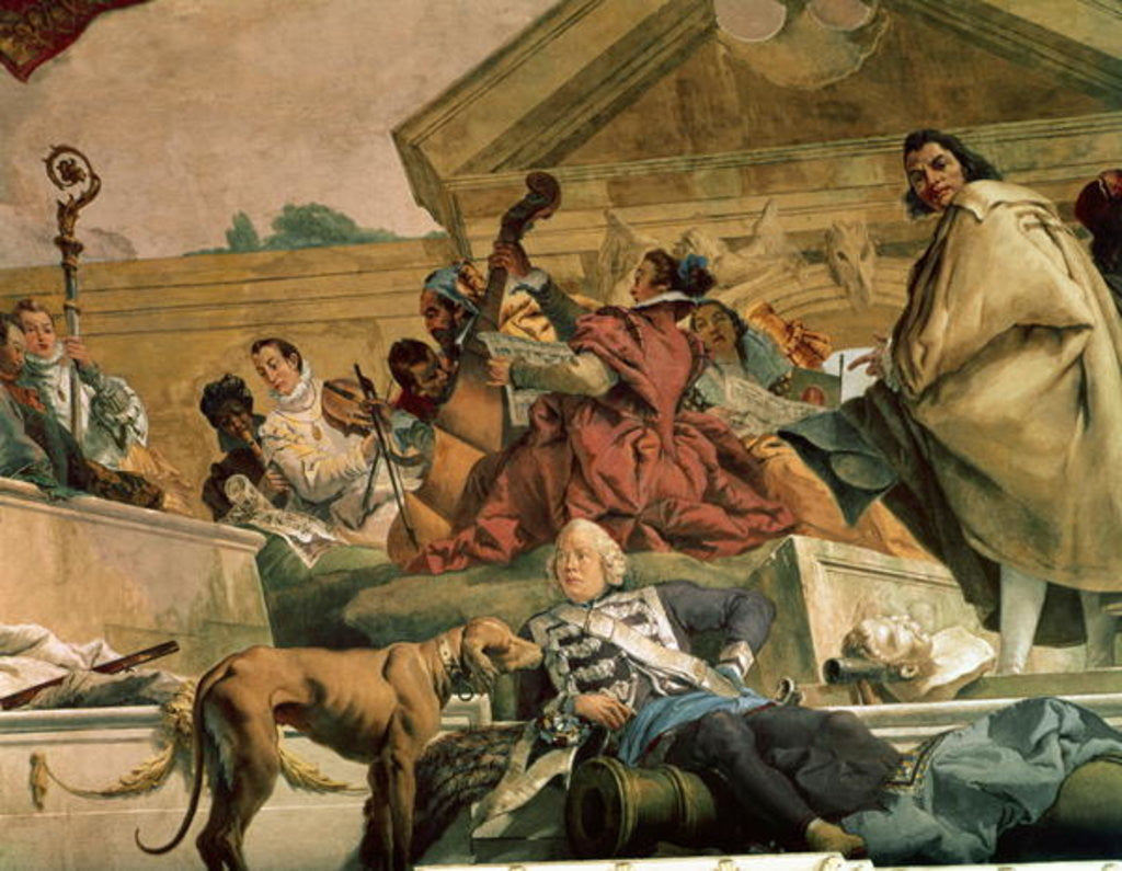Europe by Giovanni Battista Tiepolo