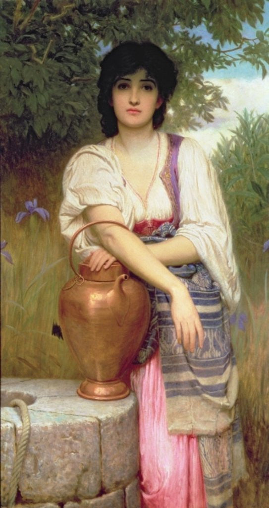 At the Well by Charles Edward Perugini