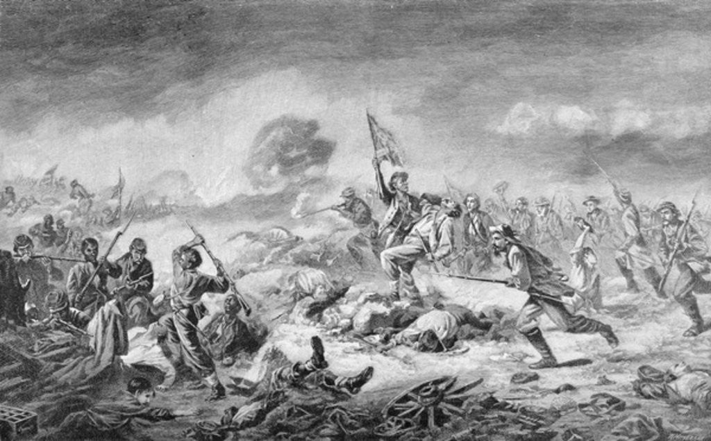 Detail of The Battle of the Crater by John Adams Elder