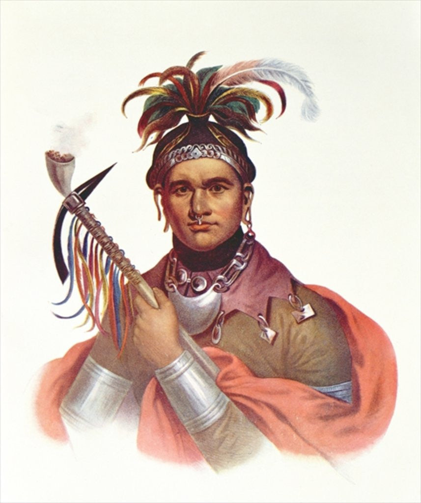 Detail of Ki-On-Twog-Ky or 'Complanter', a Seneca Chief, 1796 by F. Bartoli