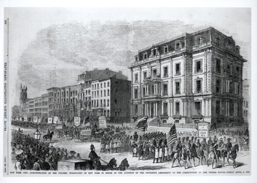 Detail of Western View of Manchester by American School
