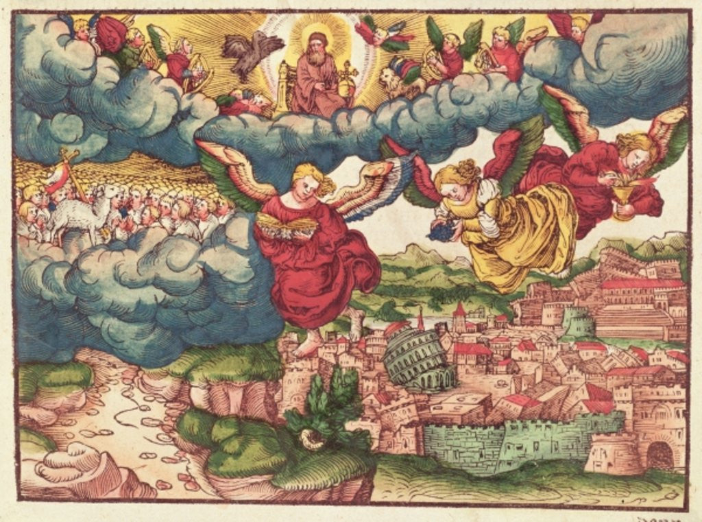 Detail of Last Judgement by German School