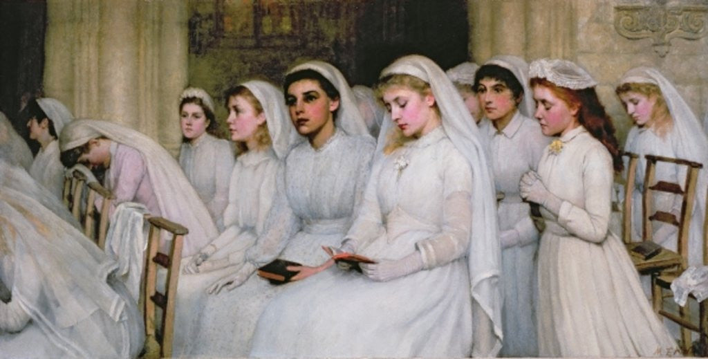 Detail of Confirmation by Mary Evelina Kindon