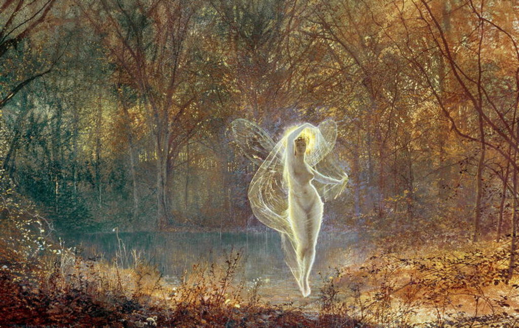 Detail of Autumn by John Atkinson Grimshaw