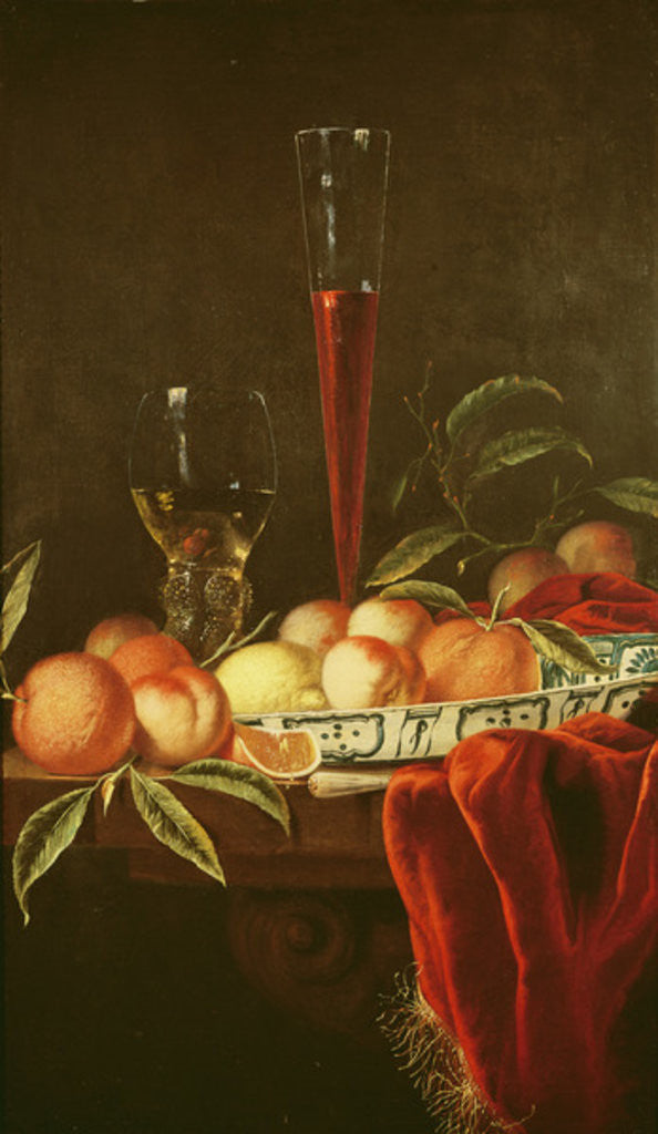 Detail of Still Life, 17th century by Jurian van Streeck or Streek