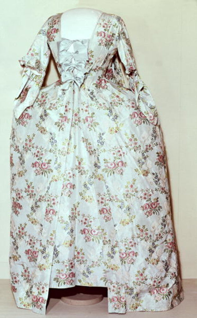 Detail of Dress belonging to the wife of Carl Linnaeus by Swedish School