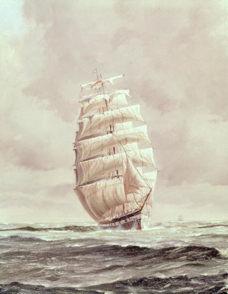 Detail of English wool clipper by Anonymous