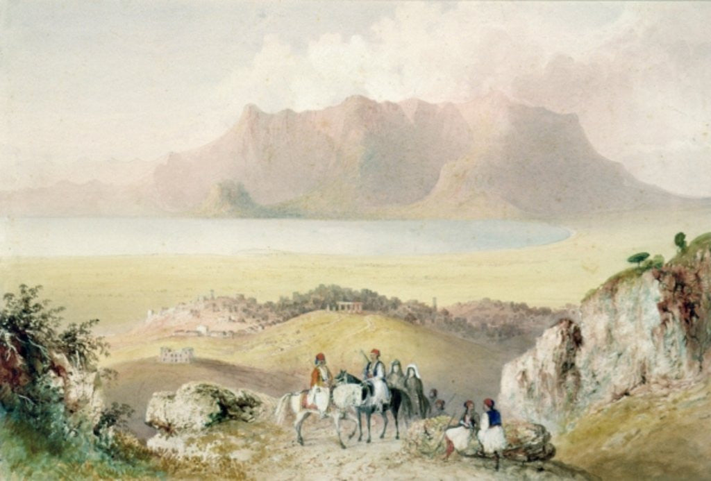 Detail of A View in Greece by Thomas Allom