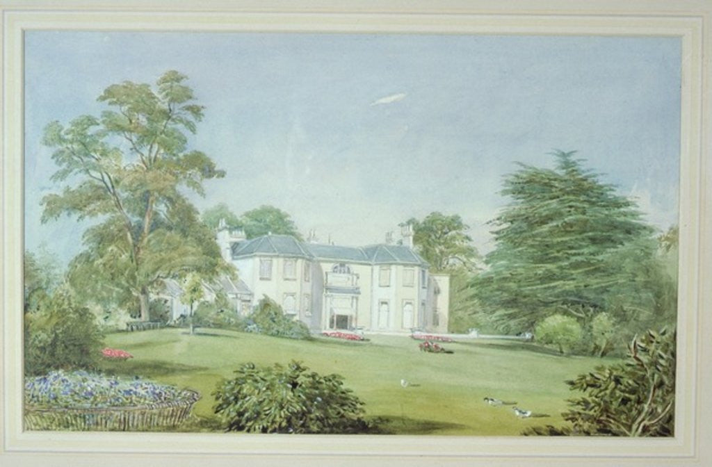 Bohun Lodge, New Barnet by John James Chalon