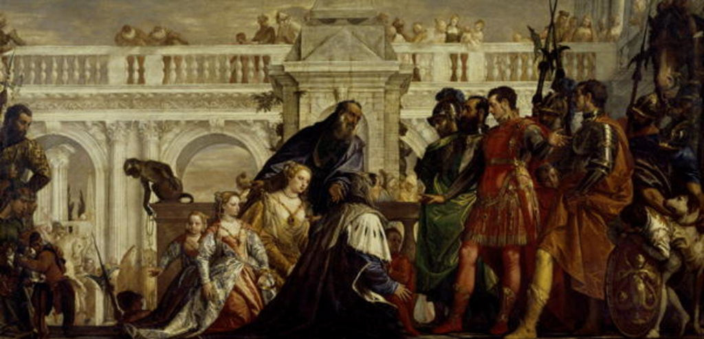 Detail of The Family of Darius before Alexander the Great by Veronese