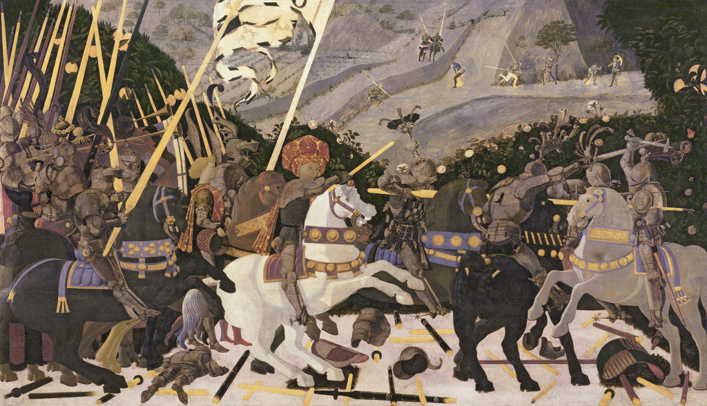 Detail of The Battle of San Romano by Paolo Uccello