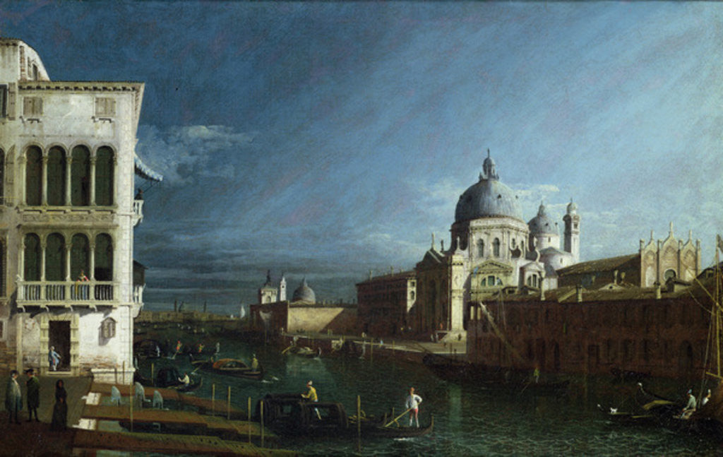 Detail of The Molo Looking West with the Doge's Palace in the Distance by Bernardo Bellotto
