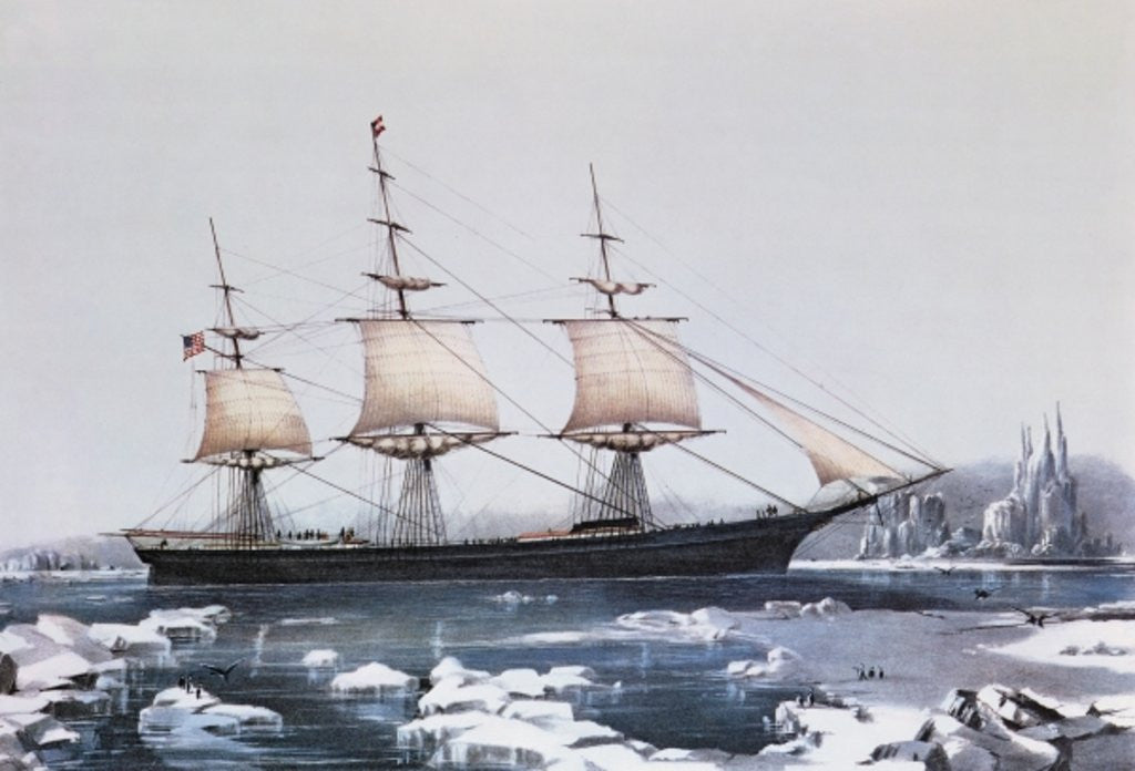Detail of Clipper Ship