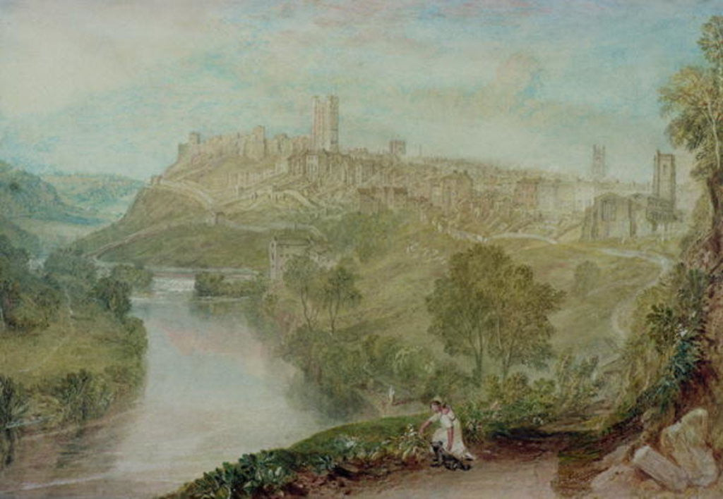 Detail of Richmond, Yorkshire by Joseph Mallord William Turner
