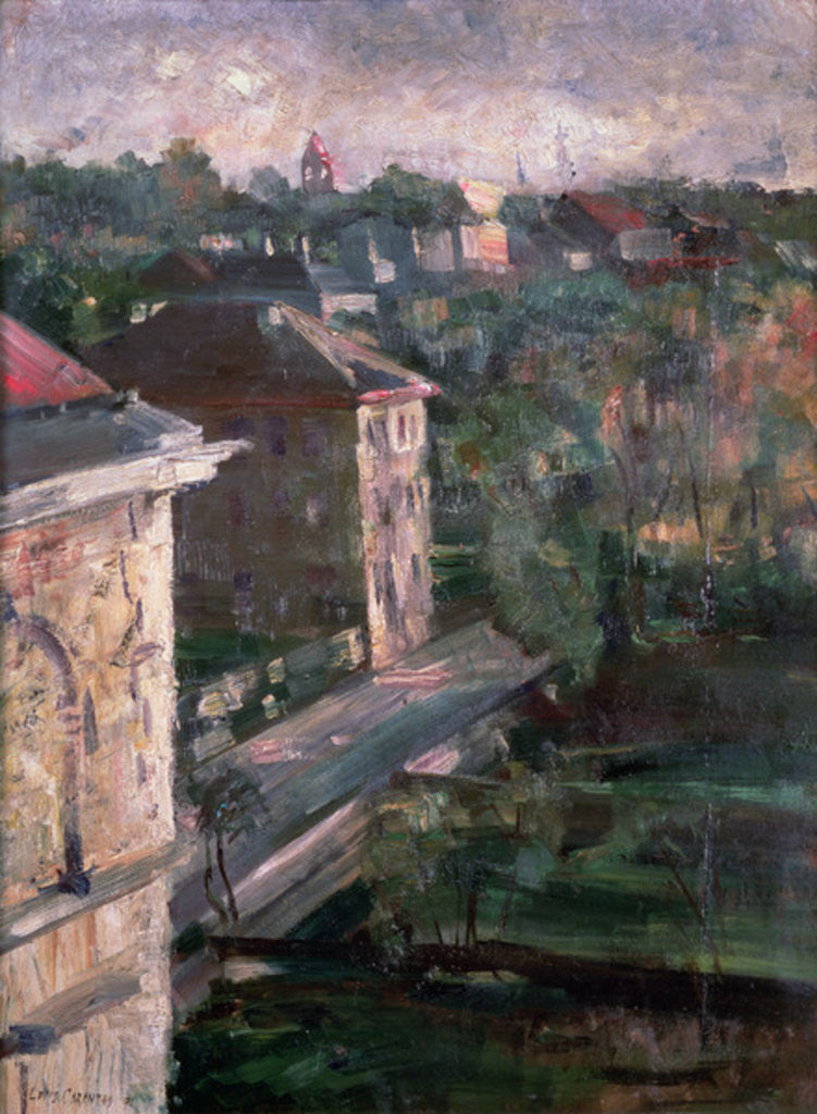 Detail of Schwabing by Lovis Corinth