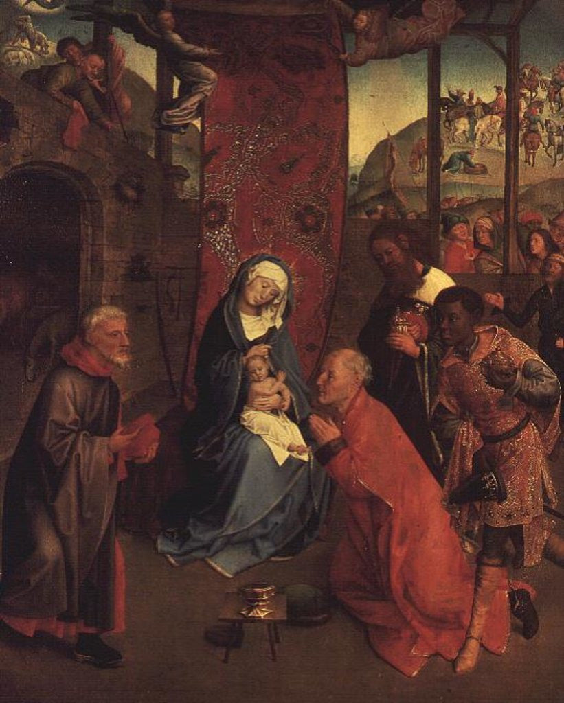 Detail of The Adoration of the Magi by Hugo van der Goes