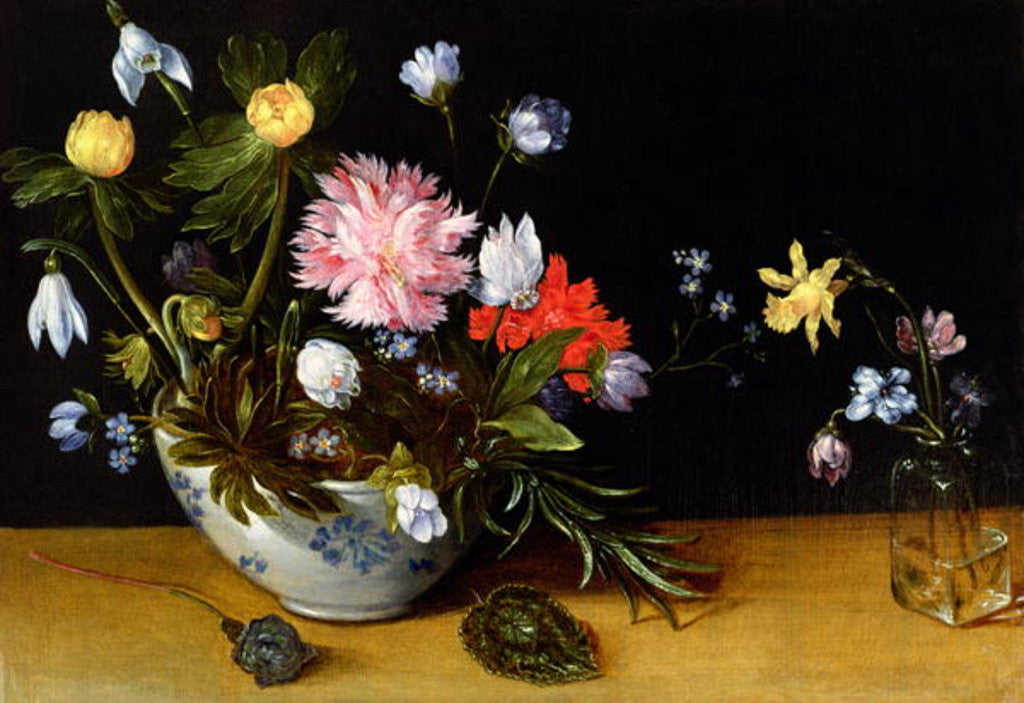 Detail of Still Life of Flowers by Jan the Younger Brueghel