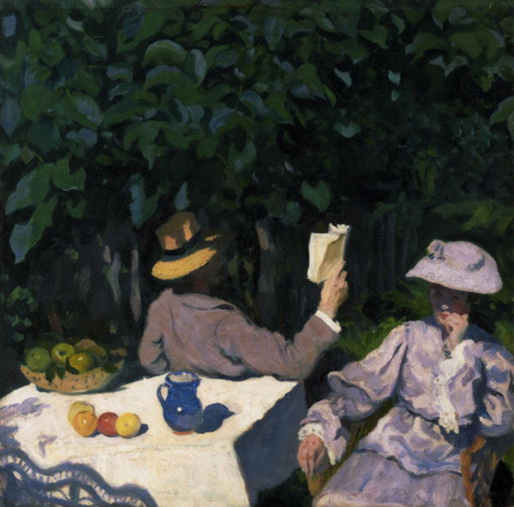 Detail of Sunny Morning by Karoly Ferenczy