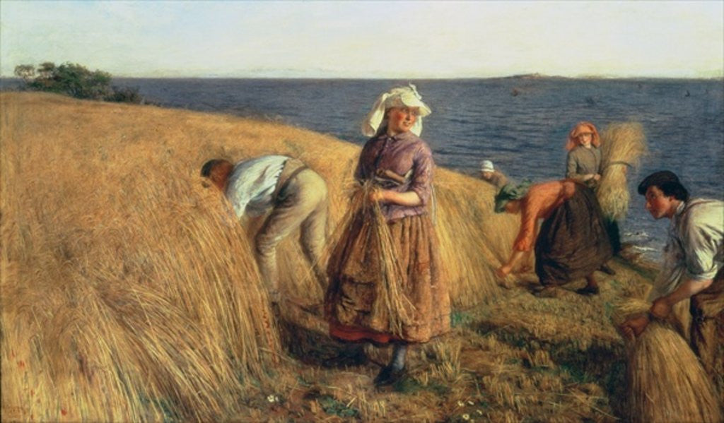 Detail of The Harvest by Hugh Cameron