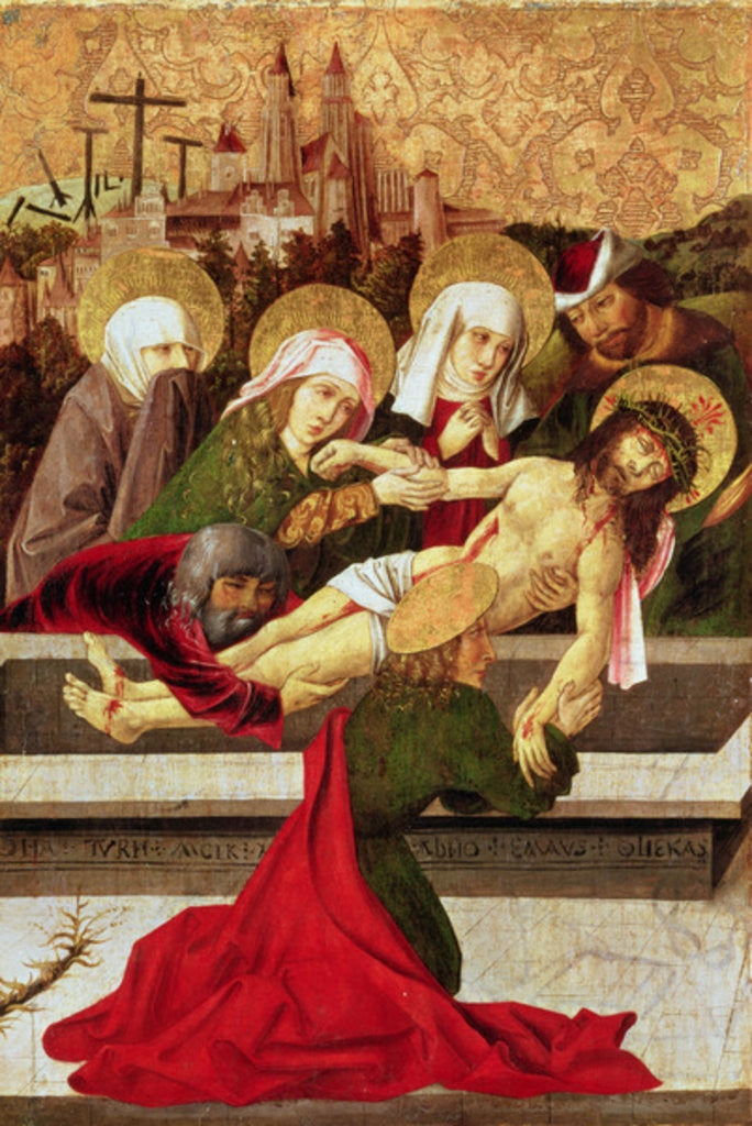 Detail of The Deposition by Master of Garamszentbenedek