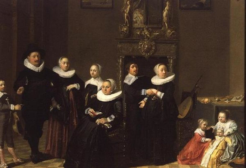 The Family of a Stadhouder in an Elegant Interior