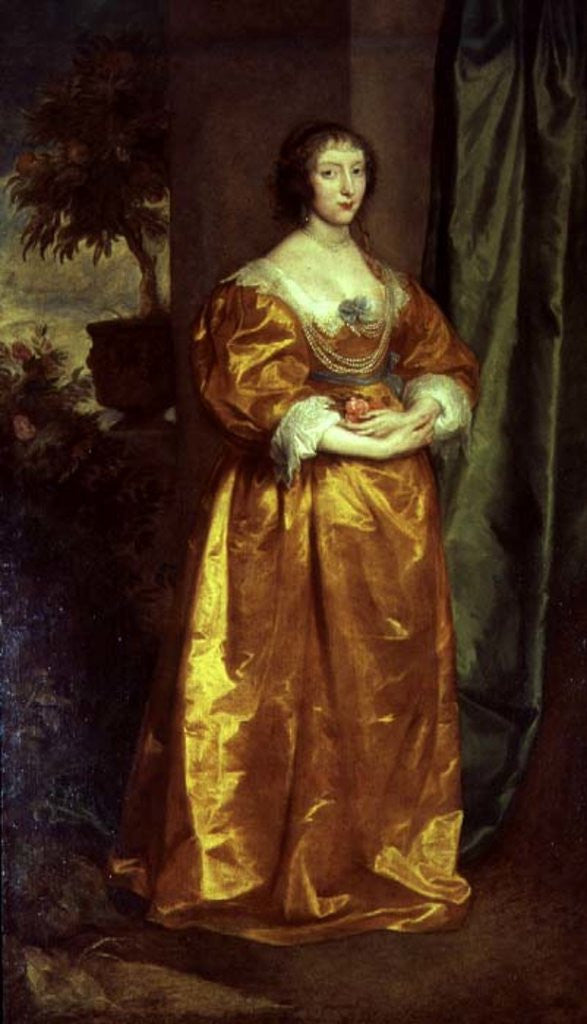 Detail of Martha Cranfield by Sir Anthony van Dyck
