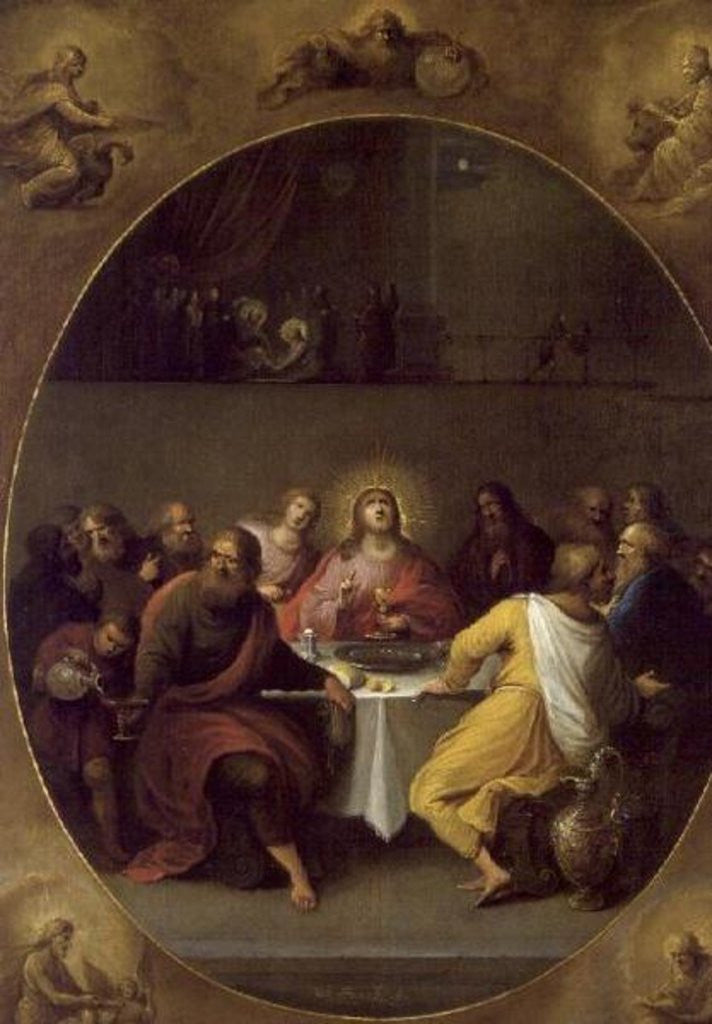 Detail of The Last Supper by Frans II and III Francken