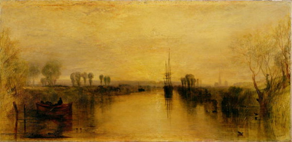 Detail of Chichester Canal by Joseph Mallord William Turner