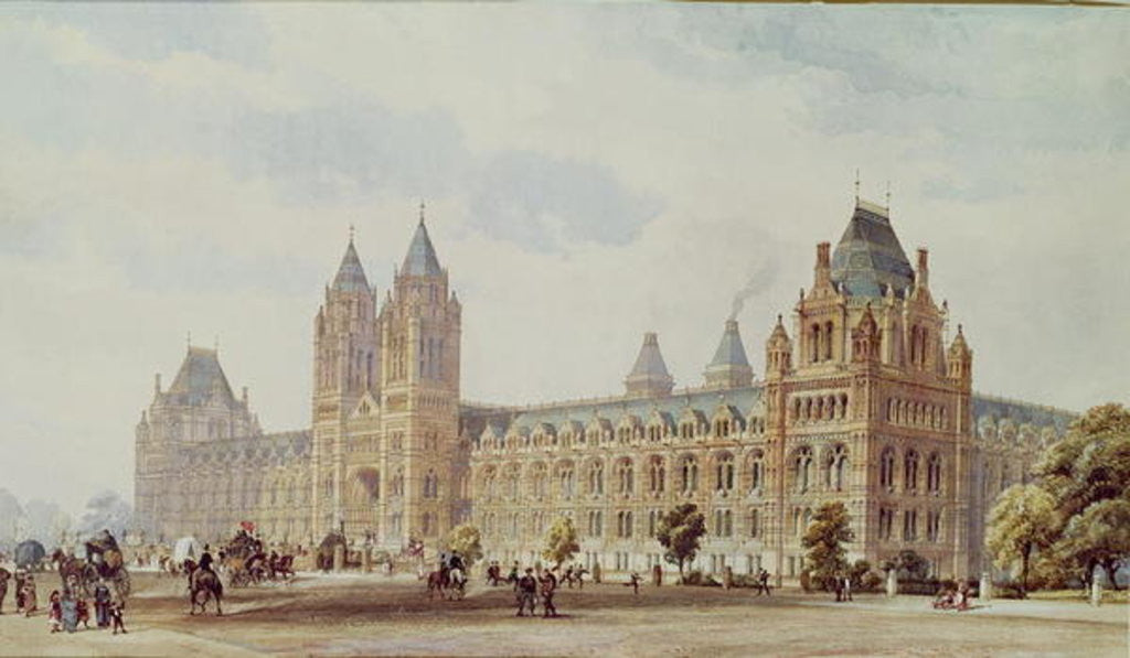 Detail of Natural History Museum by Alfred Waterhouse