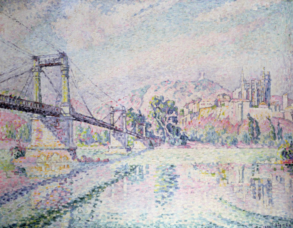 Detail of The Bridge by Paul Signac
