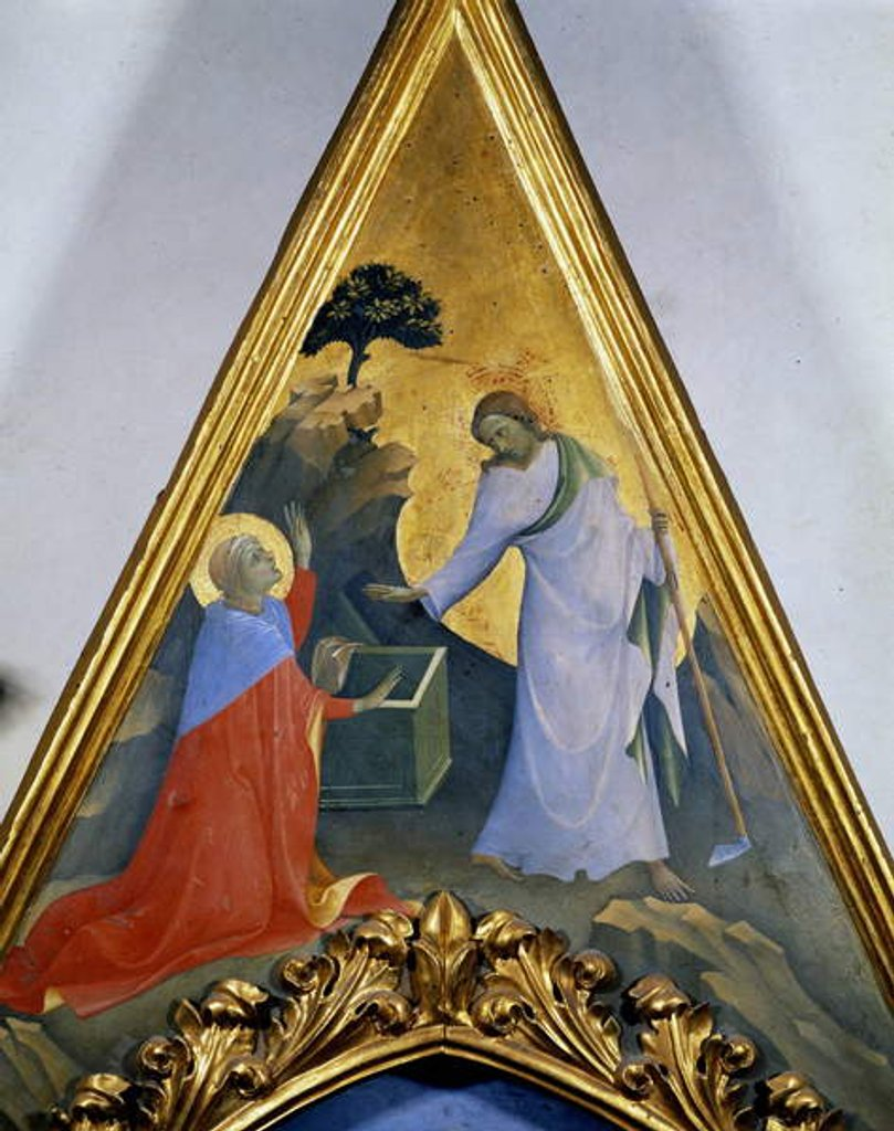 Detail of The deposition of the Cross or Pala di Santa Trinita by Fra Angelico