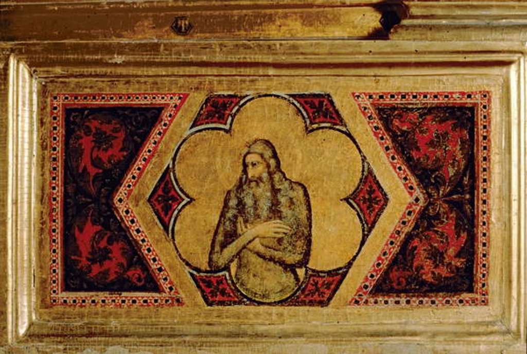 Detail of Coronation of the Virgin Polyptych by Ambrogio Bondone (workshop) Giotto