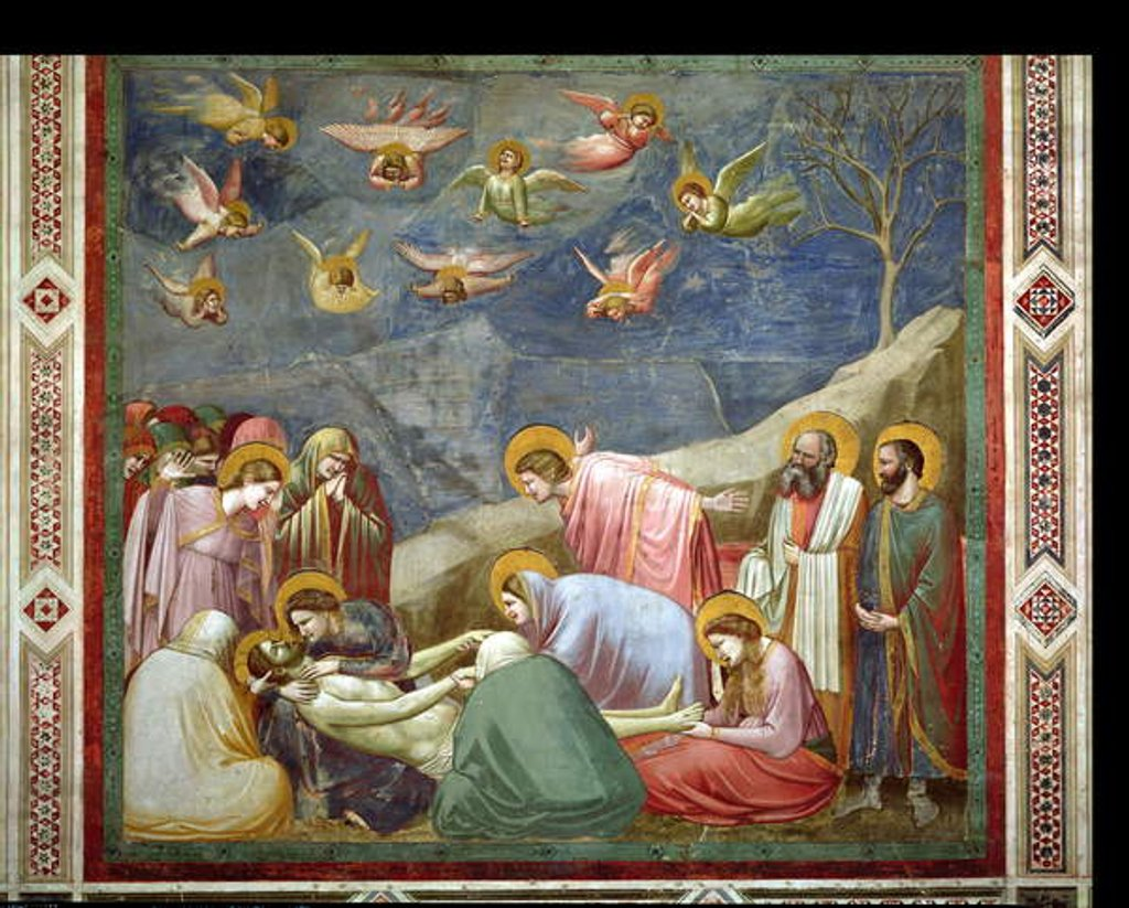 Detail of The Lamentation of the Dead Christ, c.1305 by Giotto di Bondone