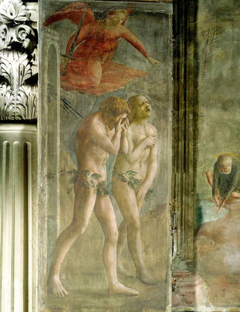 Adam and Eve banished from Paradise, c.1427