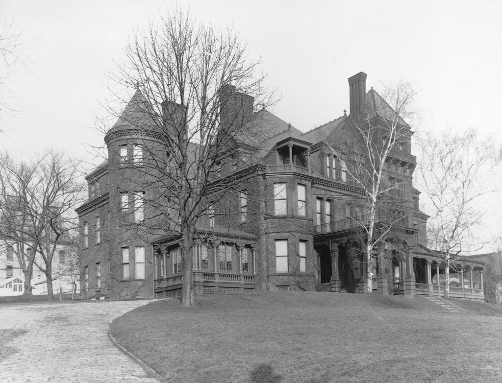 Detail of Governor's Mansion in Albany by Corbis