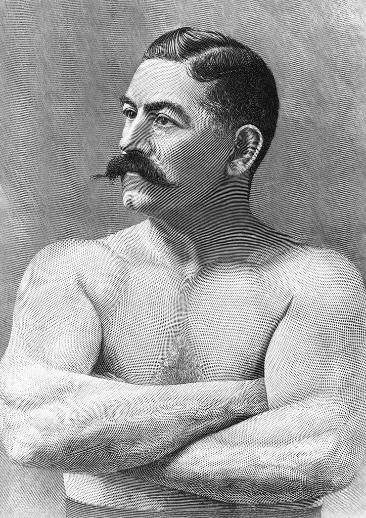 Engraving Of Boxer John Sullivan