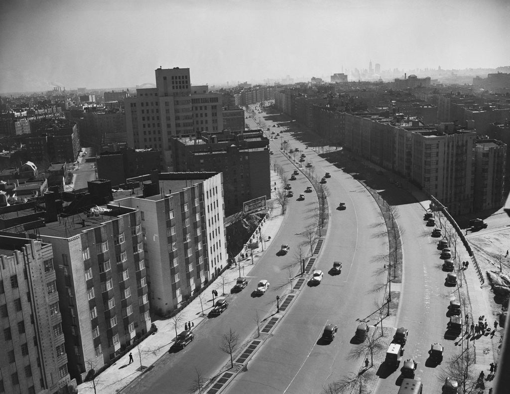 Detail of Grand Concourse In The Bronx by Corbis