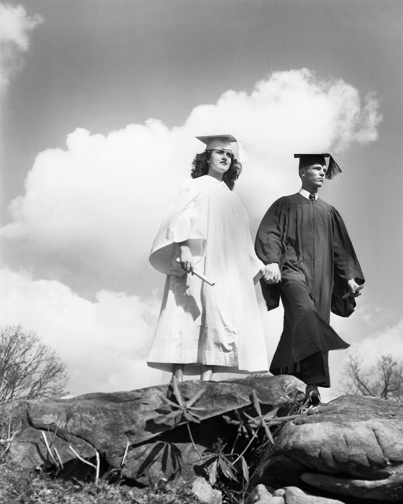 Detail of College Graduates by Corbis