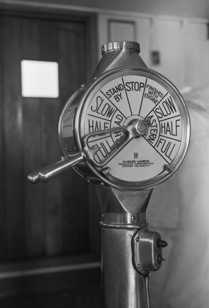 Detail of Ship Indicator by Corbis