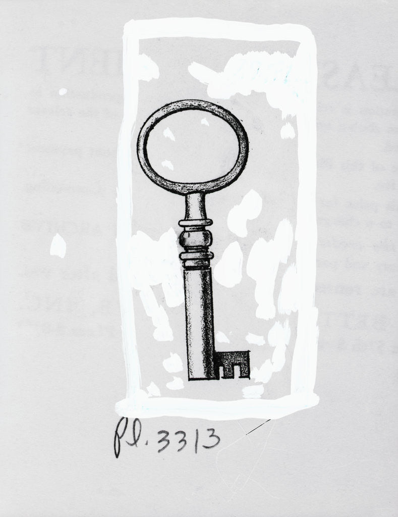 Detail of A Key by Corbis