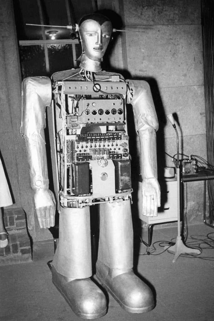 Detail of Swiss Robot by Corbis