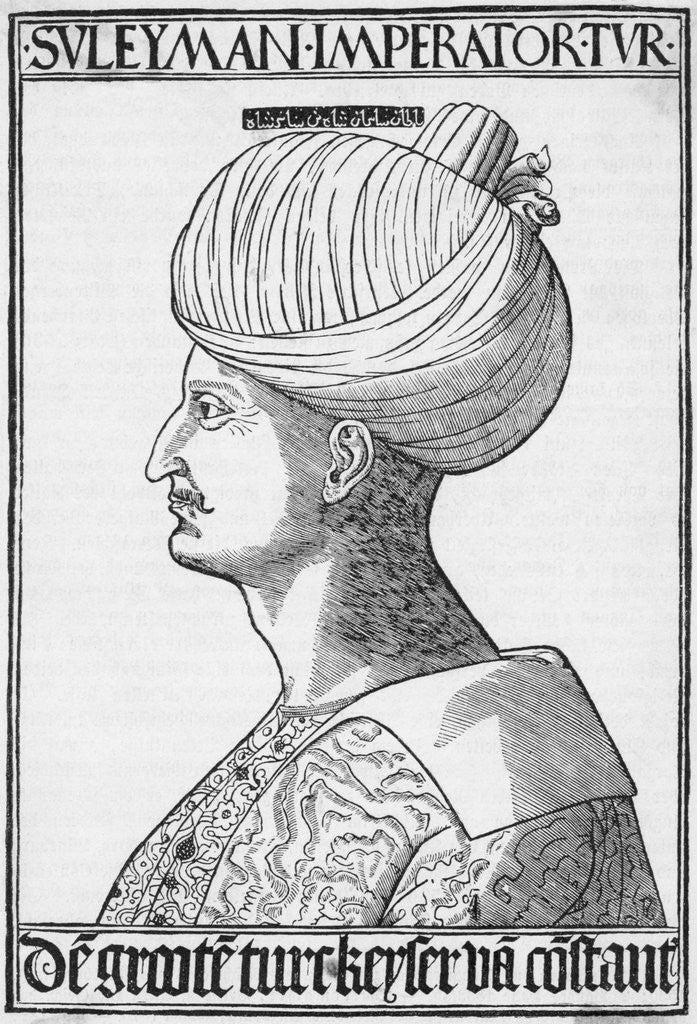 Detail of Profile Of Suleiman The Great by Corbis