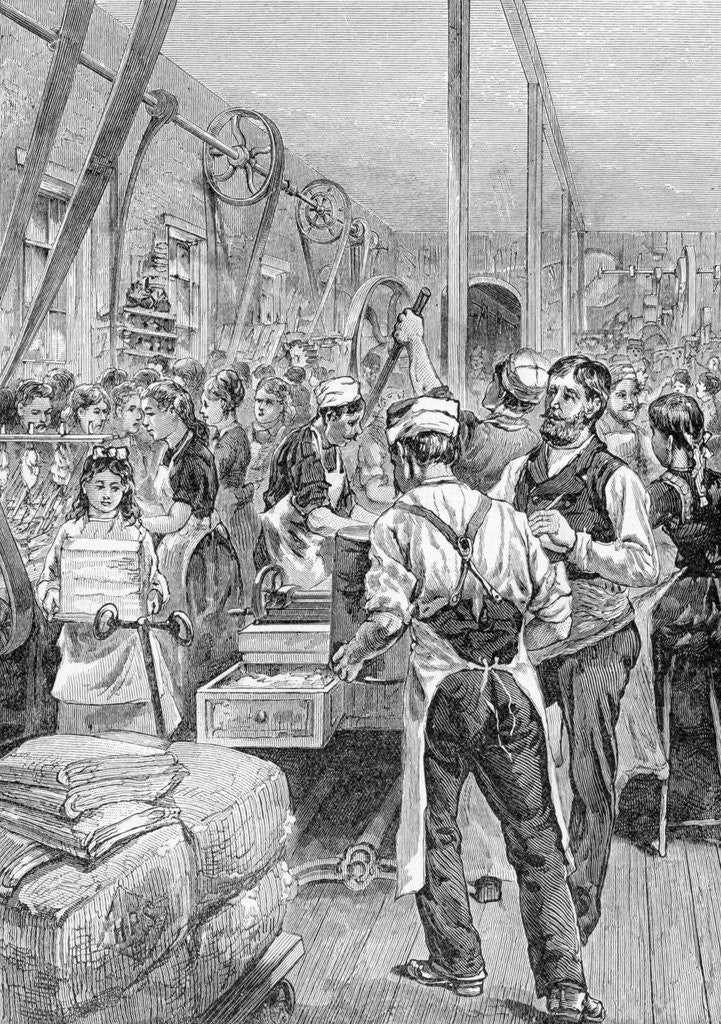 Detail of Us Factory Showing Women Employed by Corbis